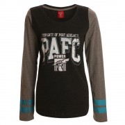 AFL Ladies Property Long Sleeve Tee Port Adelaide Power [Size:14]
