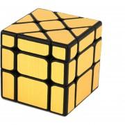 Cubo Magico MoYu MF8833 - Cepillado Dorado