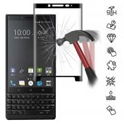 Protector de Ecrã em Vidro Temperado Mocolo Full Size per BlackBerry KEY2 - Preto