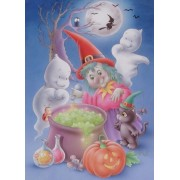 Magic Glow Series 100 piece jigsaw puzzle: GRANDMAS COOKING....Glows in the Dark