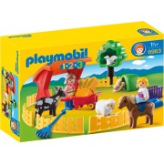 PLAYMOBIL - 1.2.3 ANIMALE LA ZOO (PM6963)