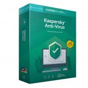 Kaspersky Anti-Virus 2019 3 Dispositivos 1 Ano