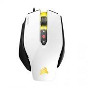 Corsair - Mouse M65 Pro con USB óptico, color Blanco