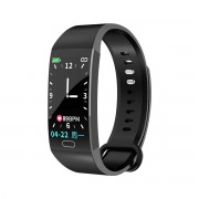 RD11 1.14inch Color Screen Smart Band Sports Fitness Tracker Bluetooth Bracelet Heart Rate Monitoring Waterproof - Black