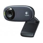 Logitech HD-Webkamera Logitech C310 fot, klämfäste