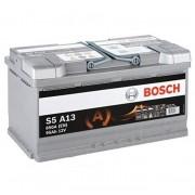 Bosch S5 AGM 95Ah 850A Jobb+ autó akkumulátor