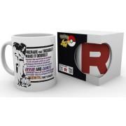 Intrafin Pokemon Team Rocket Mug