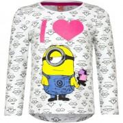 Minions Wit Minion kinder shirt