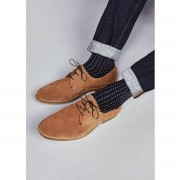 River Island Mens Tan suede derby shoes (Size 11)