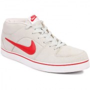 Nike Men's Lieforce Ii Mid White Sports Shoes