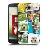 Husa LG L70 Slim Model Puppies Collage