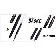 IshStar BAOKE 0.7mm Roller Ball Pen -- Gel Ink Pen (2Blue + 2BLACK) 4pcs In One Order -- Office Supplies -- High-Quality Stationery -- Unisex Pen Business Pen Office Pen School Pen --- Set Of 4 Pens