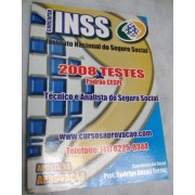 Apostila TESTES INSS 2008 - Técnico e Analista