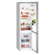 Combina frigorifica Liebherr Cnef 4813, 338 L, No Frost, Display, Control taste, Raft sticle, Alarma usa, H 201.1 cm, A++, Inox, finisaj Antiamprenta