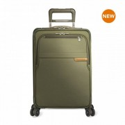 Briggs & Riley Baseline Domestic Carry On Expandable 4-Wheel Spinner - Olive