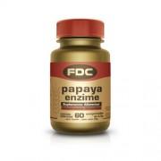 FDC Papaya Enzima 60 Comprimidos