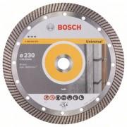 Диск диамантен за рязане Best for Universal Turbo, 230 x 22,23 x 2,5 x 15 mm, 1 бр./оп., 2608602675, BOSCH
