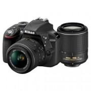 Digital Camera D3300 Double Kit 18-55mm & 55-200mm
