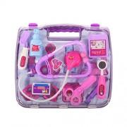 Thaibestus Doctors Set Medical Case Pretend Role Toys Kid Child Play Doctor Nurse Playset