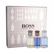 HUGO BOSS Boss Bottled Collection подаръчен комплект EDT Boss Bottled 30 ml + EDP Boss Bottled Infinite 30 ml + EDT Boss Bottled Tonic 30 ml за мъже