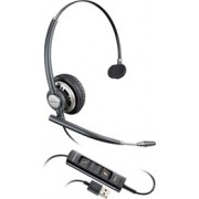Plantronics EncorePro HW715 USB Wired Mono Headset - Over-the-head - Supra-aural