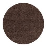 Ayyildiz koberce Kusový koberec Life Shaggy 1500 brown kruh - 120x120 (průměr) kruh cm