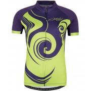 KILPI Dámský cyklistický dres FOXIERA-W GL0006KIVLT Fialová 38
