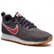 Nike Buty NIKE - Md Runner 2 Eng Mesh 916774 009 Oil Grey/University Red