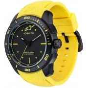 Alpinestars Tech Black Matte Watch Yellow One Size