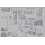 TEMPO KONDELA Vícebarevný kusový koberec HEATHER, 67x120 cm