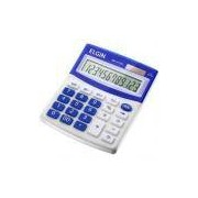 Calculadora De Mesa Visor Lcd Solar E Bateria Mv4125 Elgin - Elgin