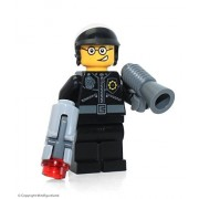 The LEGO Movie MiniFigure - Good Cop / Bad Cop (Two Faces & Open Mouth) 70819