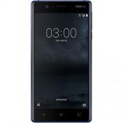 Telefon Mobil Nokia 3, 16GB Flash, 2GB RAM, Dual SIM, 4G, Tempered Blue