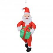 Дядо Коледа / Дядо Мраз на въже - коледна декорация - 90 см.