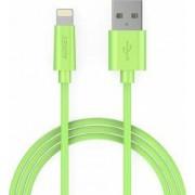 Cablu de date/incarcare Aukey CB-D20 pentru Apple Verde 1m