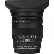Tokina FiRIN 20mm f/2 FE MF Objetivo para Montura Sony E