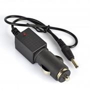 Incarcator Masina 3.5mm pentru Lanterne 3.7V 18650 , Iesire 4.2V