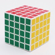 Red Rock™ New 5x5x5 Speed Cube White