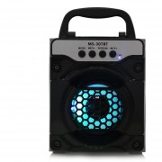 Equipo De Audio, MS - 307BT Altavoz Bluetooth-Negro