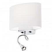 Aplica cu brat flexibil Enjoy structura din metal cu abajur alb 01-679 WH Redo
