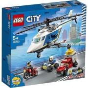 LEGO® City Urmarire cu elicopterul politiei (60243)