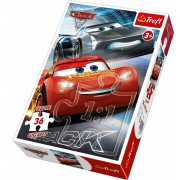 Puzzle gigant - Cars 3, 36 piese