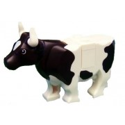 Lego Cow with Black Spots - Lego Animal Figure