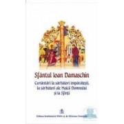Cuvantari la sarbatori imparatesti la sarbatori ale Maicii Domnului si la sfinti - Ioan Damaschin
