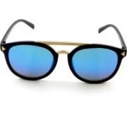 PARK DANIEL Wayfarer Sunglasses(Blue)