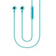 Handsfree stereo Jack 3.5 mm Samsung Albastru (cablu 1.2m, microfon)