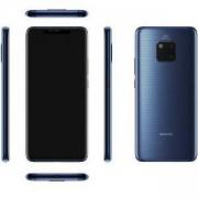 Мобилен телефон, Huawei Mate 20 Pro Midnight Син, Laya-L29C, 6.39 инча, OLED, 19.5:9, 2K+ 3120x1440, Kirin 980 Octa-core. 6901443260751