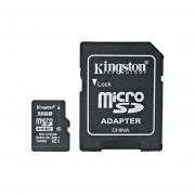 Memoria Micro Sd Hc 32gb Kingston 100% Original Clase 4 Con Adaptador SD