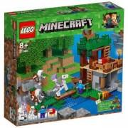 Конструктор Лего Майнкрафт - Нападение на скелет, LEGO Minecraft, 21146