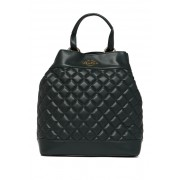 LOVE Moschino Quilted PU Backpack DARK GREEN